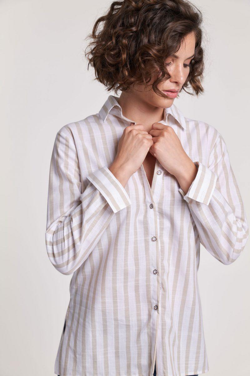 camisa-basica-beige-corsare-mujer